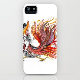 Dreamy Rooster iPhone Case