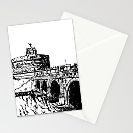 Castel Sant'Angelo, Rome Stationery Cards