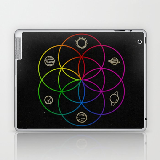 Seed of Life Laptop & iPad Skin