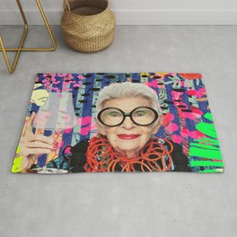Power Iris Apfel Rug