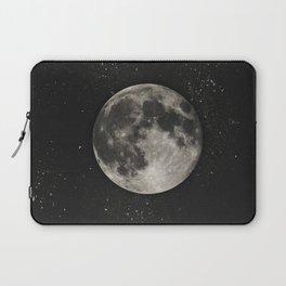 The Moon  [Sans Type] Laptop Sleeve