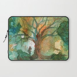 Tree and His Person Laptop Sleeve