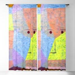 Paul Klee Two Heads Blackout Curtain