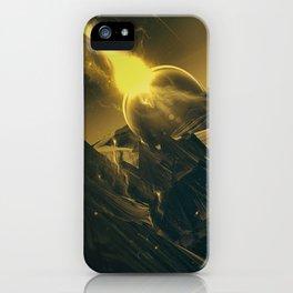 BLACK DX GOKUWAVE M816 iPhone Case