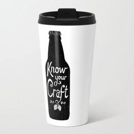 Know Your Craft Travel Mug