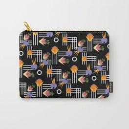 Flowers Nouveau Carry-All Pouch