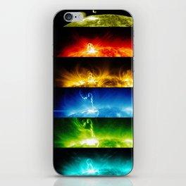 Solar Flare Rainbow iPhone Skin