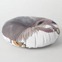Acorn Tea Floor Pillow