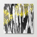 Abstract Palm Tree Leaves Design by oursunnycdays