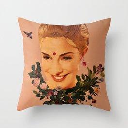 Floral wedding Throw Pillow