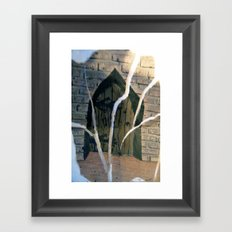 magic door Framed Art Print