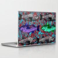 fishing Laptop & iPad Skins featuring Fishing by cultclass