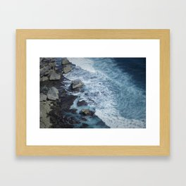 Uluwatu Waters Framed Art Print