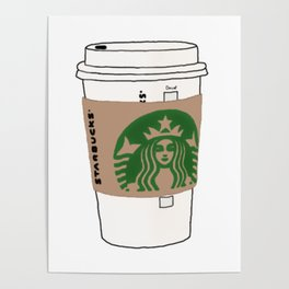 Starbucks Cup Poster