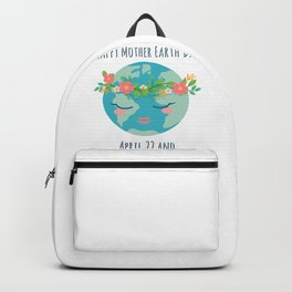 Happy Mother Earth Day Backpack