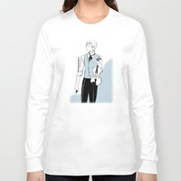 violin Long Sleeve T-shirts featuring Violin by Cassandra Jean