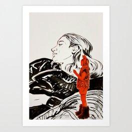 My little devil Art Print