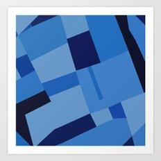 Peckham Blue 45 Art Print