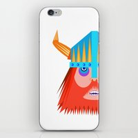 viking iPhone & iPod Skins featuring Viking  by natewilsongraphics