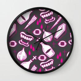 Vampire Hunter Wall Clock