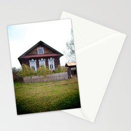 A Village House in the Mari Republic Stationery Cards