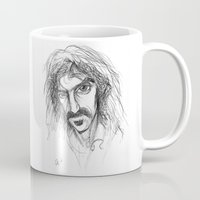 zappa Mugs featuring Zappa by Mark T. Zeilman