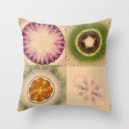 Carpincho Wraith Flower  ID:16165-041255-38370 Throw Pillow