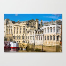York City Guildhall in the spring sunshine. Canvas Print