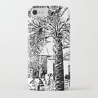 palm tree iPhone & iPod Cases featuring Palm tree by ArteGo