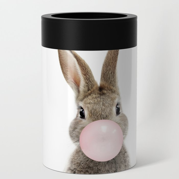 Bubble Gum Bunny Can Cooler