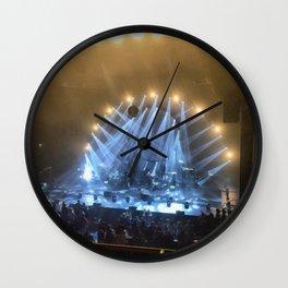 Silver & Gold Concert Wall Clock