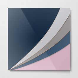 Abstract geometric pattern 2 Metal Print