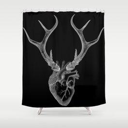 immortal heart Shower Curtain