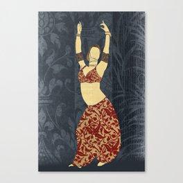 Belly dancer 17 Canvas Print