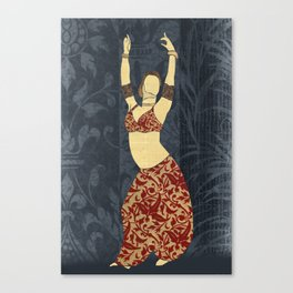 Belly dancer 17 Canvas Print