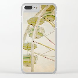 Set Yourself Free Clear iPhone Case
