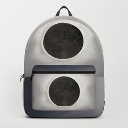 Total Eclipse by  OLena Art Backpack