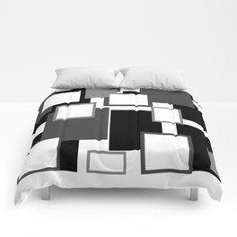 Blank Frames Comforters