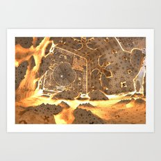 World Furnace Art Print