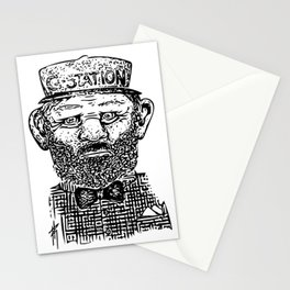 The Employee Of The Year Stationery Cards