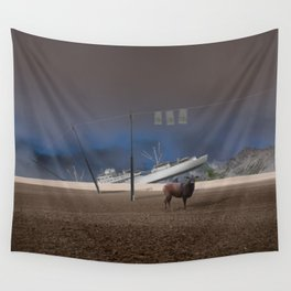 atmosphere · stupidity Wall Tapestry