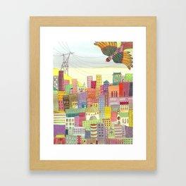 cité Framed Art Print