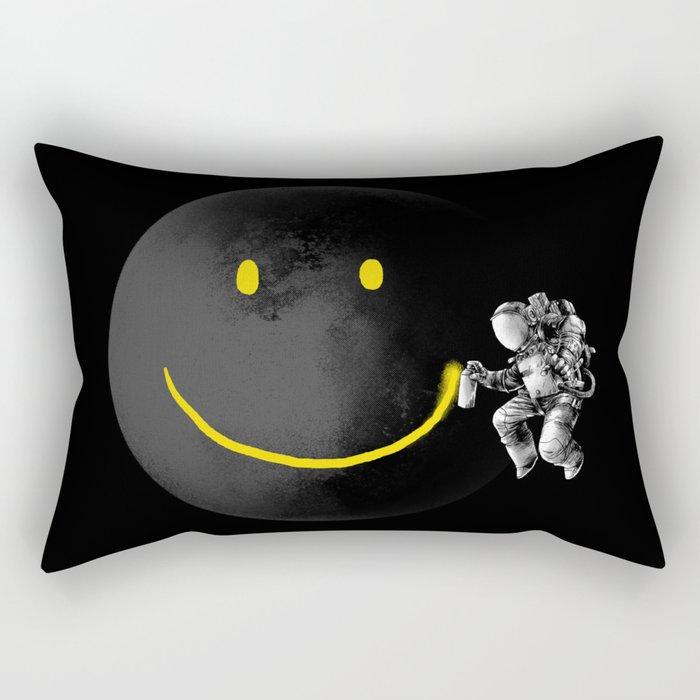 Make a Smile Rectangular Pillow