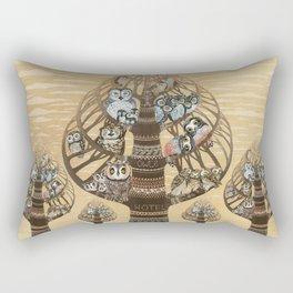 Owl Hotel Rectangular Pillow