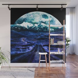 Highway to Eternity (moon mountain) Wall Mural