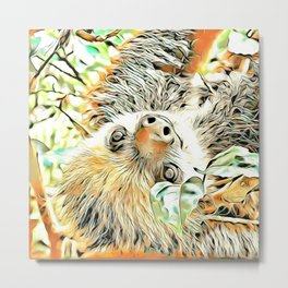 ArtAnimal Sloth II Metal Print