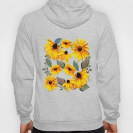 Black-eyed Susan Pattern Hoody