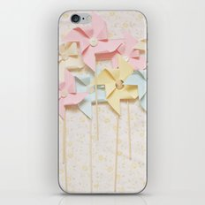 pinwheels iPhone & iPod Skin