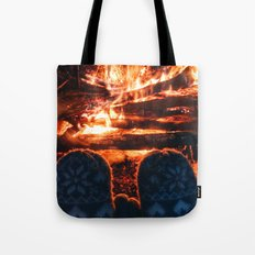 stay warm this winter Tote Bag
