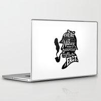 sherlock Laptop & iPad Skins featuring Sherlock by Alpha-Tone
